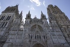 Element of gothic architecture. France in summer. Stock Image