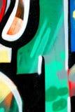 Element of graffiti stock image