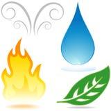 Element icons Stock Image
