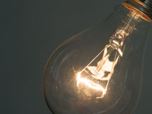 Element in the incandescent light bulb Stock Images