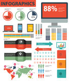 Element of Info graphics,Graphics design. S Royalty Free Stock Images