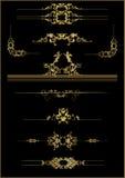 element kwiecista rama Obraz Royalty Free