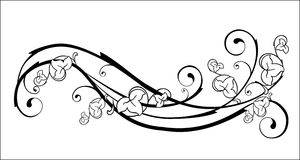 element kwiecisty Royalty Ilustracja