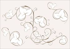 element kwiecisty Obraz Royalty Free