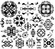 element många smyckar stock illustrationer