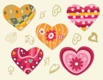 element miłość Obrazy Royalty Free