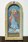 Element of the mosaic of The Church of St. Michael the Archangel Royalty Free Stock Photography