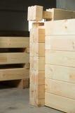 Element oа glued timber construction Royalty Free Stock Photos