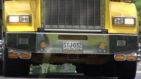 Element och billyktor för lastbil rikligt royaltyfri fotografi