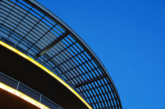 Element oval canopy against the sky Royalty Free Stock Photo