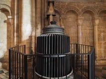 Element på Ely Cathedral arkivbilder