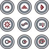 element p för design 10b Stock Illustrationer