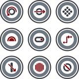 element p för design 10c Royaltyfri Illustrationer