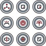 element p för design 10d Stock Illustrationer