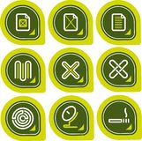 element p för design 12a Vektor Illustrationer