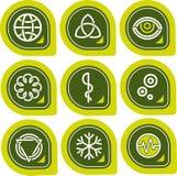 element p för design 12c Stock Illustrationer
