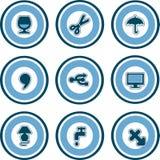 element p för design 13d Stock Illustrationer