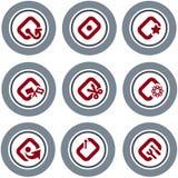 element p för design 19d Vektor Illustrationer