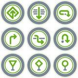 element p för design 20a Stock Illustrationer