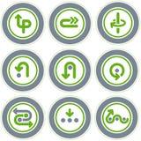 element p för design 20b Stock Illustrationer