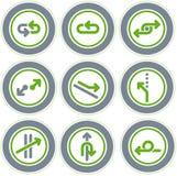 element p för design 20c Vektor Illustrationer