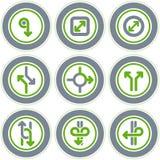 element p för design 20d Stock Illustrationer