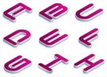 element p för design 24a Stock Illustrationer