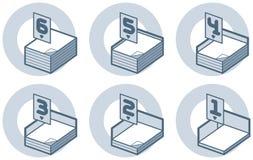 element p för design 4b Vektor Illustrationer
