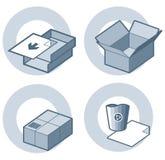element p för design 4h Vektor Illustrationer