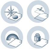 element p för design 4j Stock Illustrationer