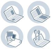 element p för design 4k Vektor Illustrationer