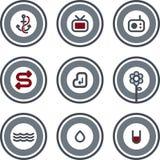element p för design 8d royaltyfri illustrationer
