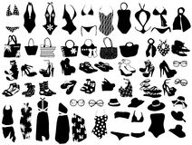 element plażowa moda Zdjęcie Stock
