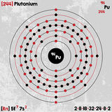 Element of Plutonium Royalty Free Stock Photo
