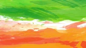Creative Irish flag on watercolour
