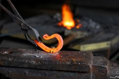 Element in the smithy Royalty Free Stock Photography