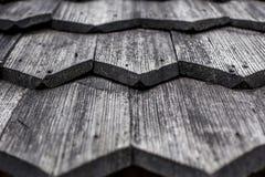 Element stary drewniany dach Zdjęcie Royalty Free