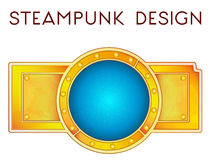 Element in steampunk style. Vector illustration of element in steampunk style Royalty Free Stock Images