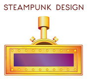 Element in steampunk style. Vector illustration of element in steampunk style Stock Photos