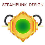 Element in steampunk style. Vector illustration of element in steampunk style Stock Photo