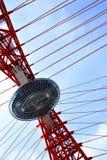 Element of suspension bridge Royalty Free Stock Photography