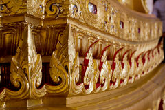 Element of Traditional Thai architecture. Made form a carved wood Stock Photography
