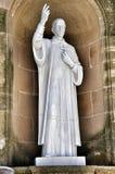 Element- und Detailkloster Montserrat Stockfoto