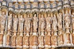 Element- und Detailkloster Montserrat Stockbilder