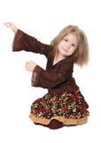 Element van de dans van kinderen Royalty-vrije Stock Afbeeldingen