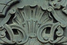 Element of vintage metal doors Royalty Free Stock Photo