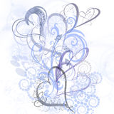 Element voor ontwerp, frame, illustratie Royalty-vrije Stock Foto's