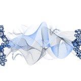 Element voor ontwerp, frame, illustratie Royalty-vrije Stock Foto