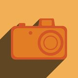 Element for web design. photo camera. Royalty Free Stock Photo