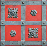 Element wrought iron forged door castle Royalty Free Stock Photography